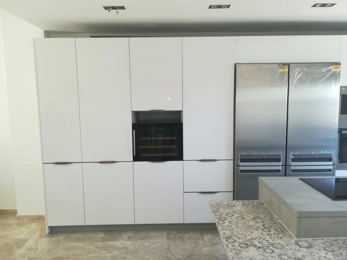 El blanco en la cocina: una apuesta segura